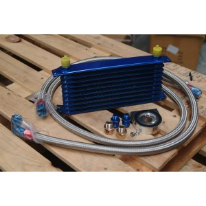 10 Row oil cooler kit + Sandwitch plate