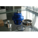 50MM V Band Blow Off Valve in blue