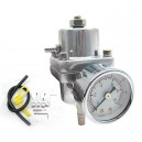 NEW Adjustable Fuel Pressure Regulator + Gauge‏